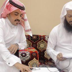 الأستاذ / بلقاسم بن الربيع عضو مجلس منطقة عسير سابقا في زيارة ( لمتحف بن خضير الزهيري )