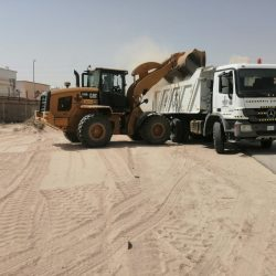 بلدية الجبيل تنتهي من إصلاح أربعة آلاف متر مربع من الأسفلت والأرصفة في مختلف شوارع المحافظة