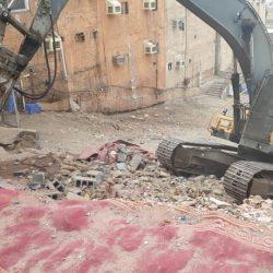 أمانة العاصمة المقدسة ترفع 3 أطنان من المخلفات بحراج المعيصم